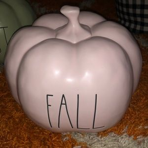 Blush Rae Dunn Pumpkin